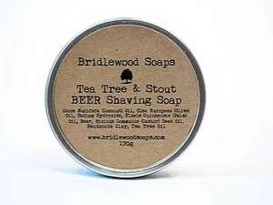 015 ($15) Shaving Soap - Tea Tree & Malt