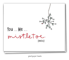 021 ($6.25) You, Me & Mistletoe