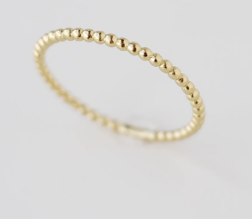 133 ($30) Dots Ring Gold