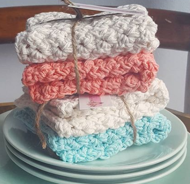 117 ($16.50) Wash Cloth Set