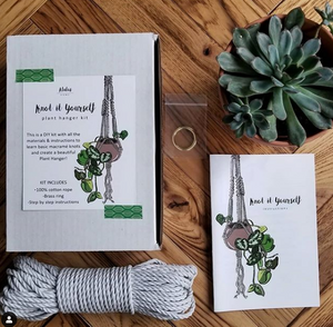 132 ($45) DIY - Plant Hanger - Kit