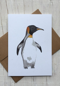201 ($6) Card - Penguin