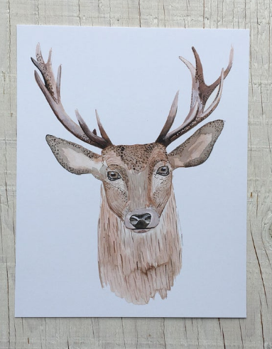 201 ($15) Print - Stag