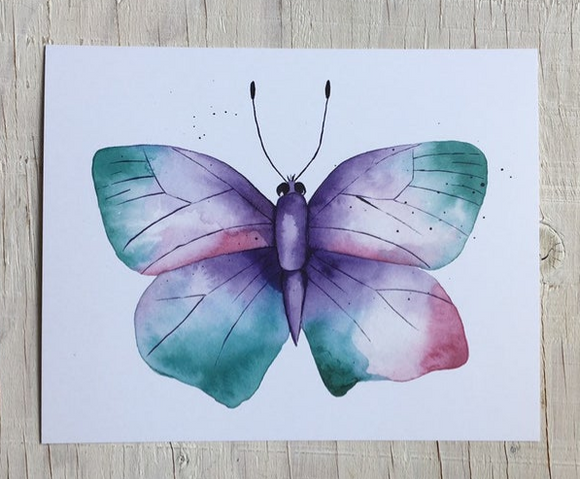 201 ($15) Print - Butterfly