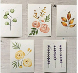 201 ($6) Card - Floral