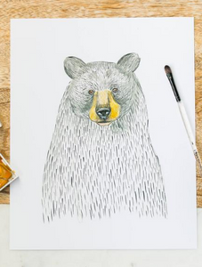 201 ($6) Card - Black Bear