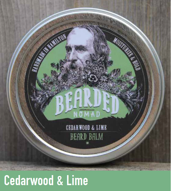 065 ($20) Beard Balm - Cedarwood & Lime