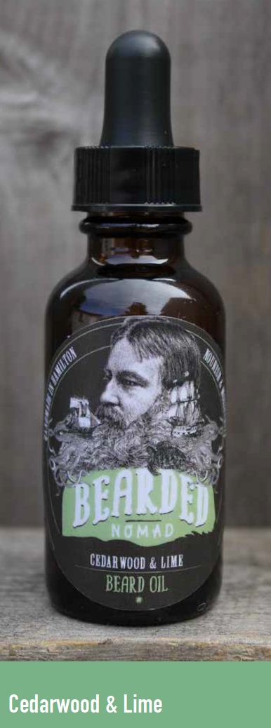 065 ($20) Beard Oil - Cedarwood & Lime
