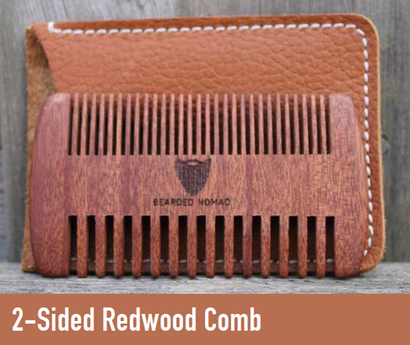 065 ($20) 2-Sided Redwood Comb