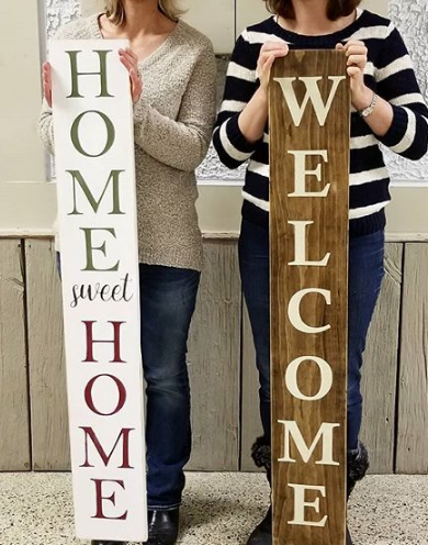 245 ($50) Welcome Sign - 4ft