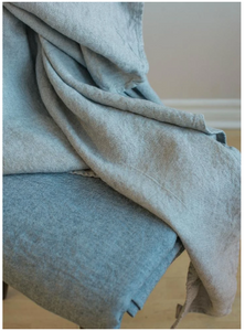 076 ($70) Bath Towel Chateau - Grey - Linen