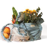 077 ($25) Tote with Produce Bags - Set of 4