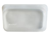 077 ($12) Stasher - Clear - Snack Bag