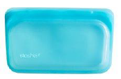 077 ($12) Stasher - Aqua - Snack Bag
