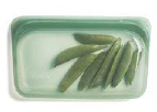 077 ($12) Stasher - Agave - Snack Bag