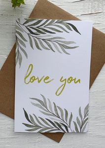 201 ($5) Card - Love You