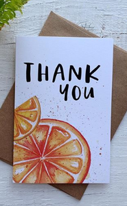 201 ($5) Card - Thank You Citrus