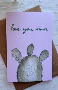 201 ($5) Card - Love You Mum