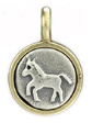 071 ($32) Horse - Tiny Pendant Silver and Bronze