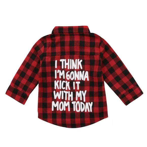 233 ($28) Kick It with Mom Plaid