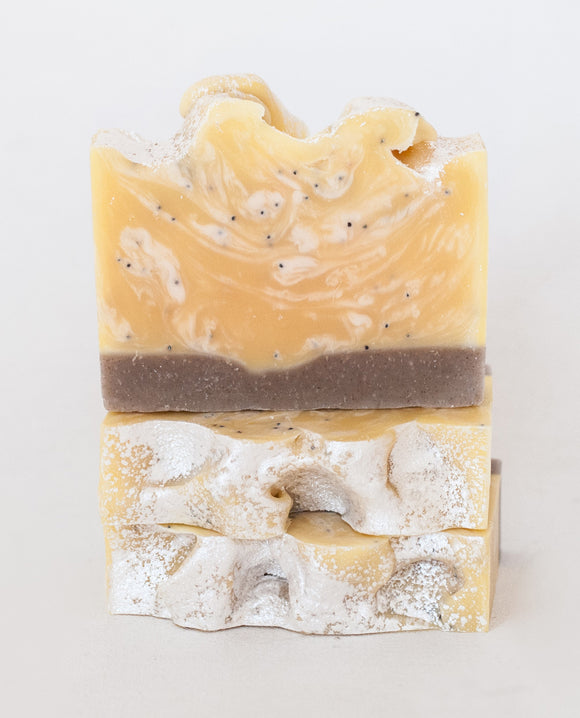 113 ($7) Soap - Lemon Poppy Seed