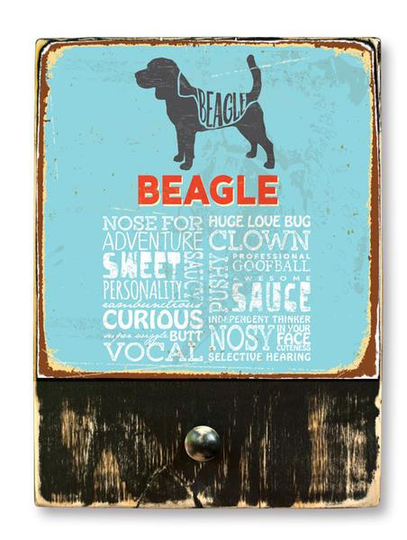 221 ($42.99) Beagle - Dog leash hanger.