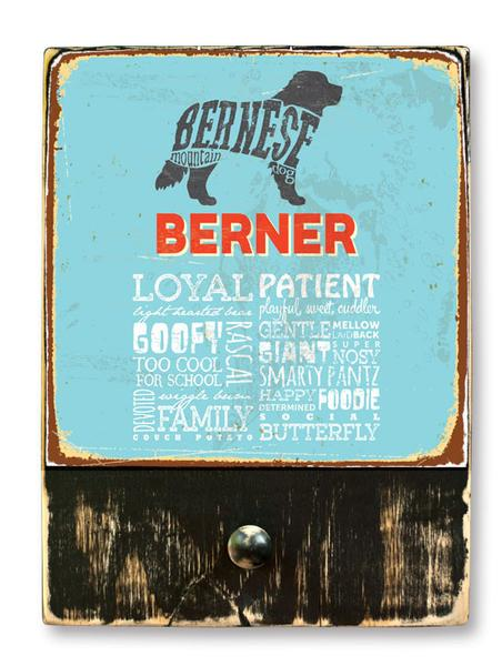 221 ($42.99) Bernese - Dog leash hanger.