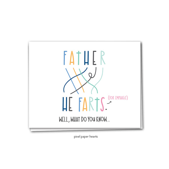 021 ($6.25) Father Farts
