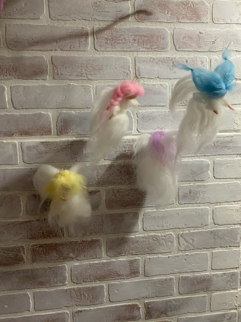 239 ($100) Mobile - Felted Angels