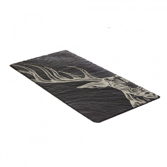 069 ($75) Stag - Engraved Slate - Large