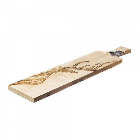 069 ($125) Stag - Long Sycamore Paddle