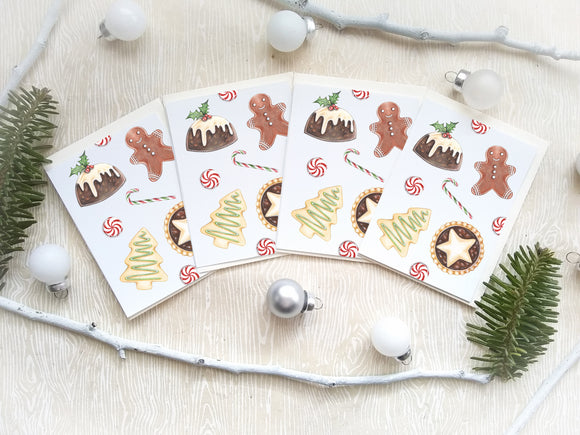 205 ($12) Mini Card Set - Christmas Goodies