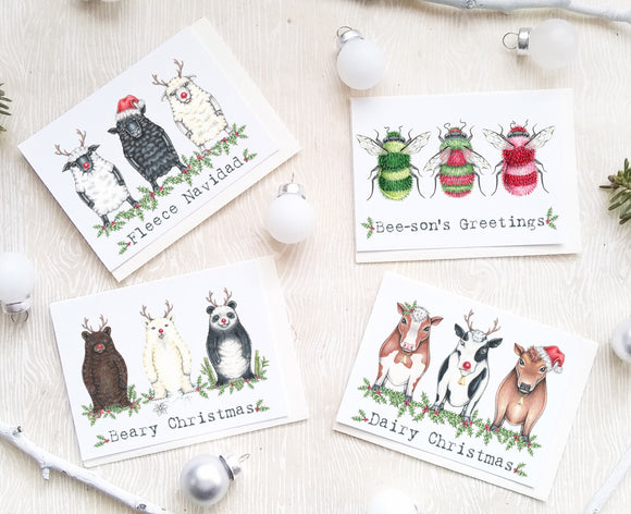 205 ($12) Mini Card Set - Mixed Holiday