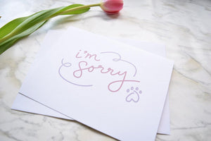 225 ($6) Card - Sorry