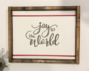 141 ($35) Sign - Joy to the World