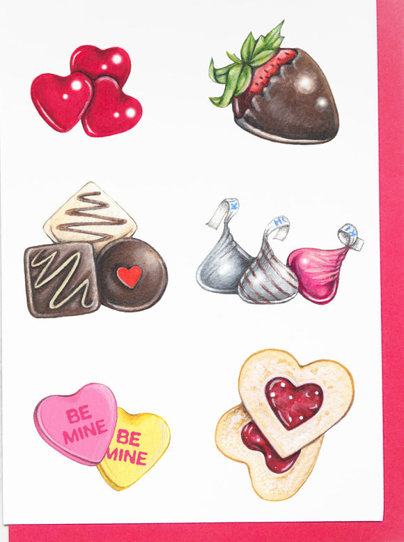 205 ($6) Love Cards - Valentine's Day Treats