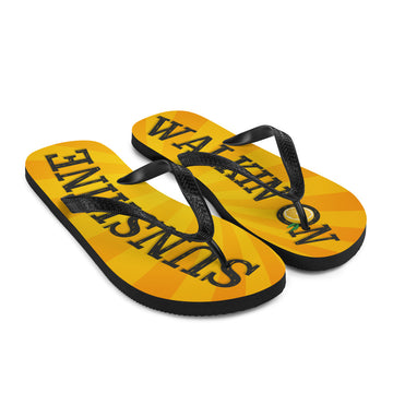 Walkin' On Sunshine Flip-Flops
