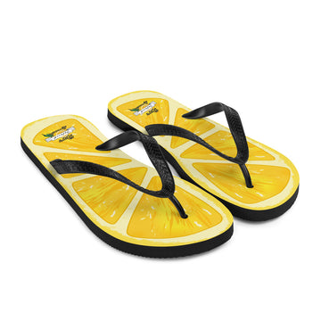 Ray's Lemon Slice Flip-Flops