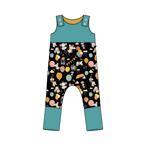 Everglades Celebration Mice Snap Romper
