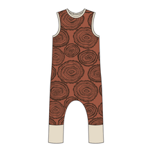 Load image into Gallery viewer, Pisgah  Full Print Pull-on Romper