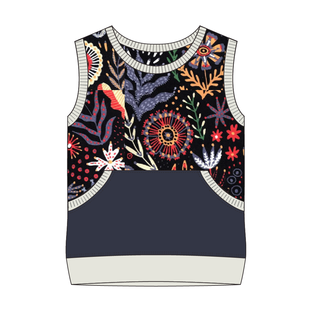 Everglades Floral Night Tank