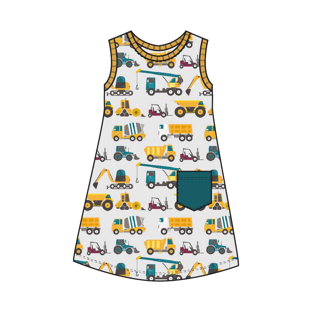 Tahoe Construction Dress
