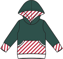 Load image into Gallery viewer, Rainier Cane Stripes Hoodie