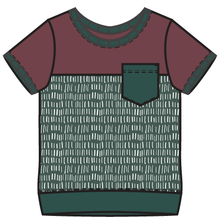 Load image into Gallery viewer, Rainier Ivy Colorblock Tee