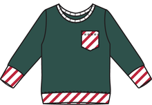 Load image into Gallery viewer, Rainier Cane Stripes Chest Pocket Tee