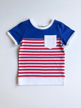 Load image into Gallery viewer, Olympia Americana Colorblock Tee