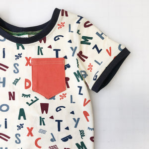 Chaco Alphabet Pocket Tee