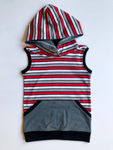 Load image into Gallery viewer, Olympia Vader Stripe Tank Hoodie