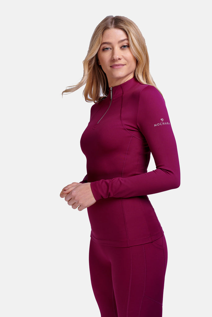 Mochara Technical Base Layer in Berry