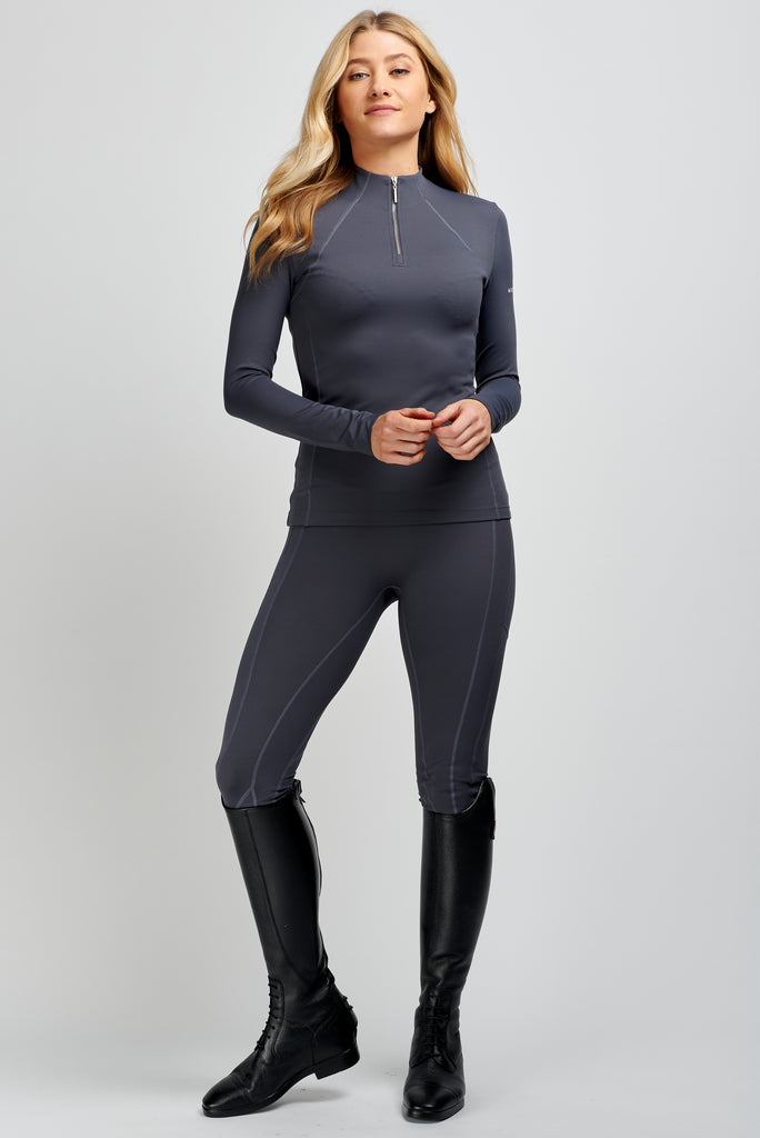 Technical Leggings Charcoal
